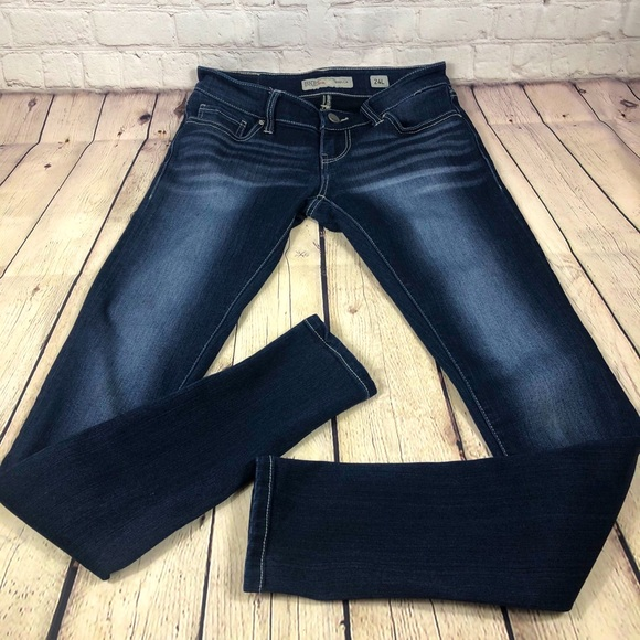 BKE Stella Skinny Jeans sz 24x33.5 long